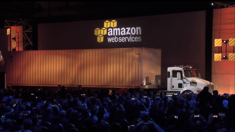 Amazon Launches Snowball and Snowmobile (2015-16)