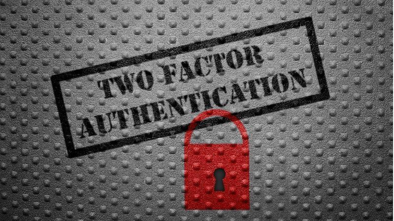 Activate two-factor authentication