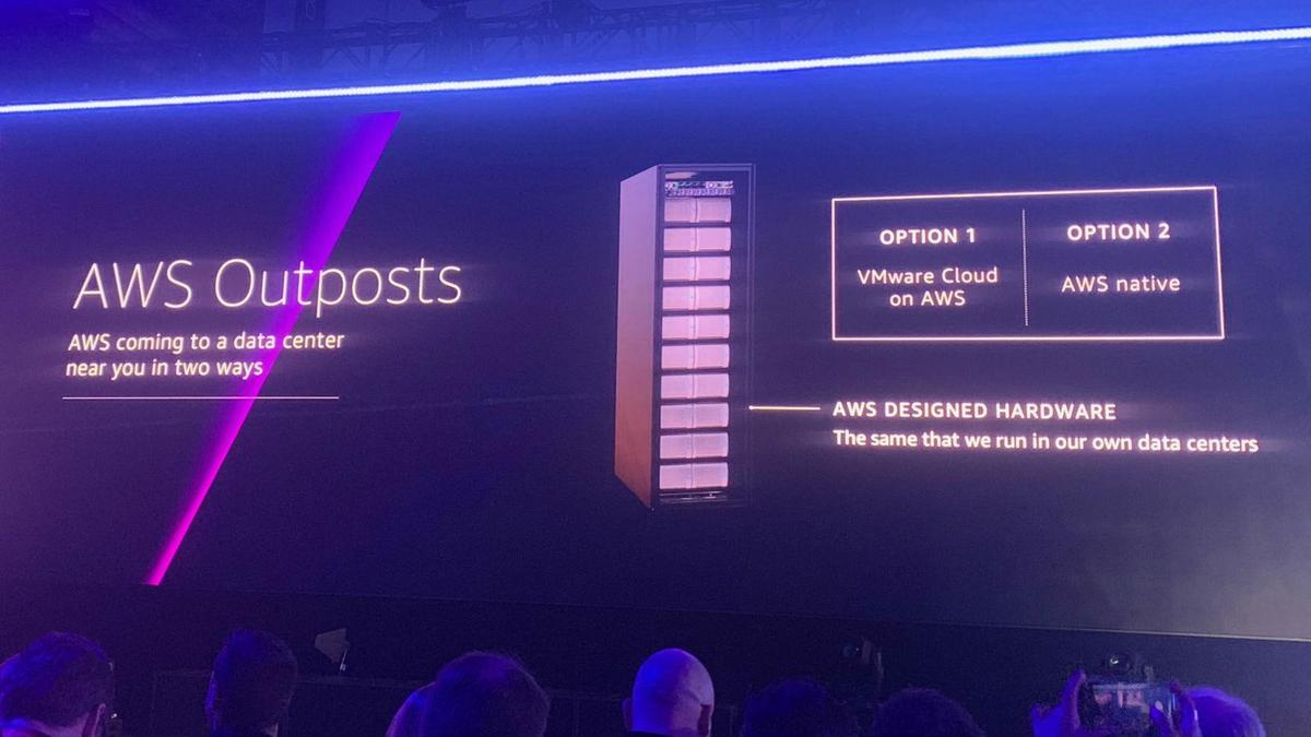 AWS is getting serious about hybrid cloud with Outposts, so