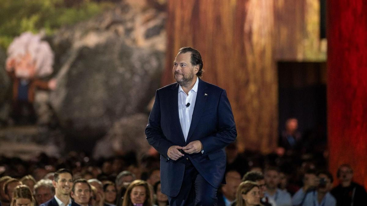 """Benioff calls for """"ethical and humane use of technology"""""""