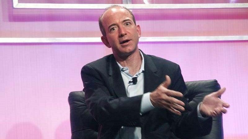 Jeff Bezos $98.8 billion (£73.20 billion)