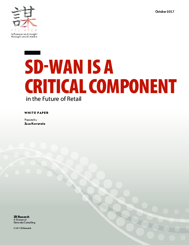 The SD-WAN Ushers in the Era of the Routerless Branch Office