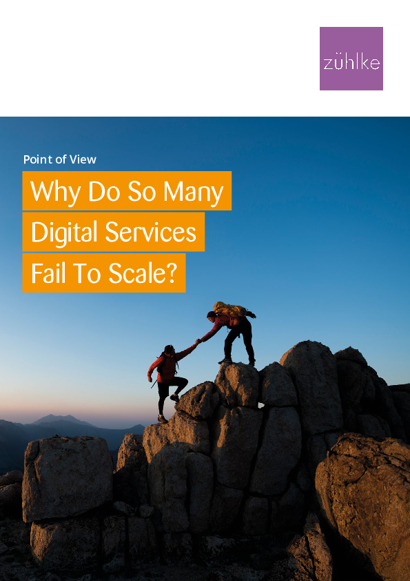 Why Do So Many Digital Services Fail to Scale
