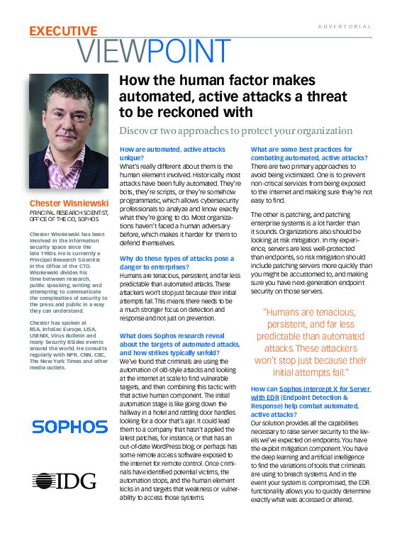 Sophos Inc