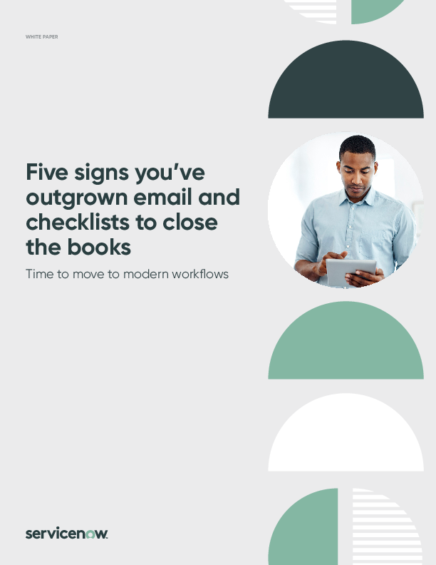 5 signs you've outgrown email and checklists to close the books