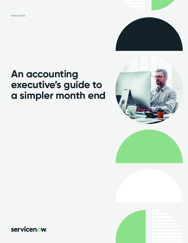 An accounting executive's guide to a simpler month end