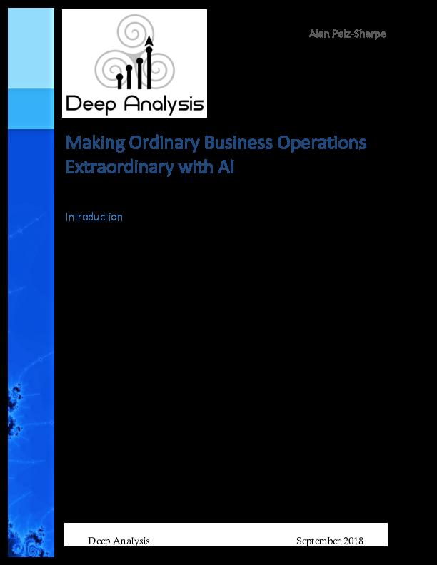 Augmented capture Deep Analysis report