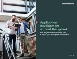 Application Development Without the Sprawl