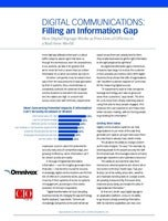 Digital Communications: Filling an Information Gap