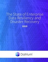 The State of Enterprise Data Resiliency and Disaster Recovery