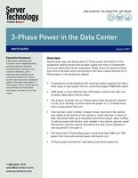 3 Phase Power in the Data Center
