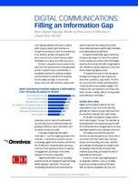 Digital Communications: Filling an Information Gap