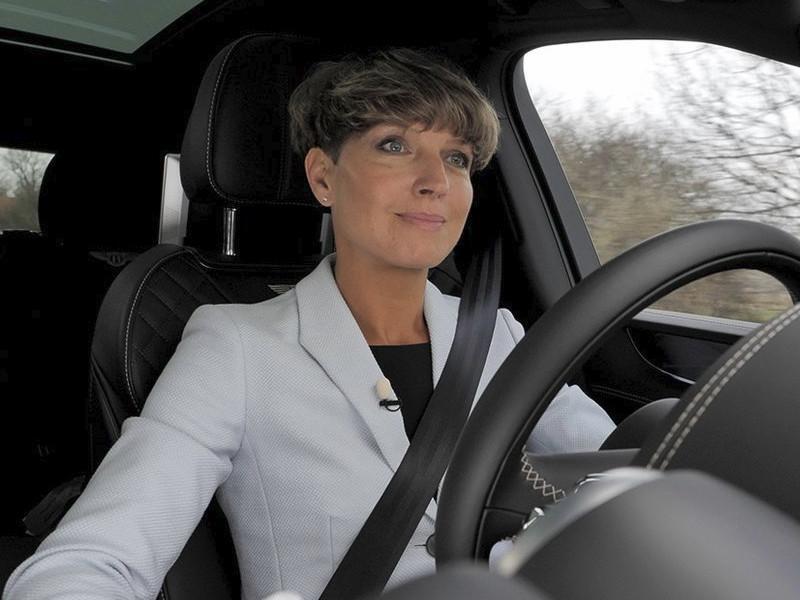 Bentley board director Astrid Fontaine