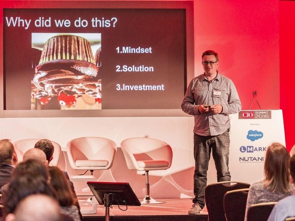 Nick Burton, Chief Information & Digital Officer at Avon International