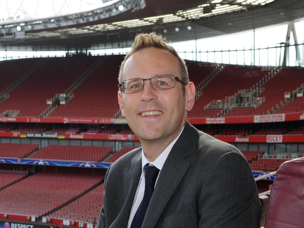 Hywel Sloman -  Operations Director, Arsenal FC