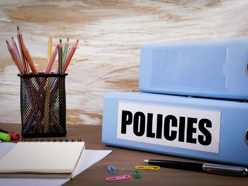 Implement and promote an up-to-date email policy across your organisation
