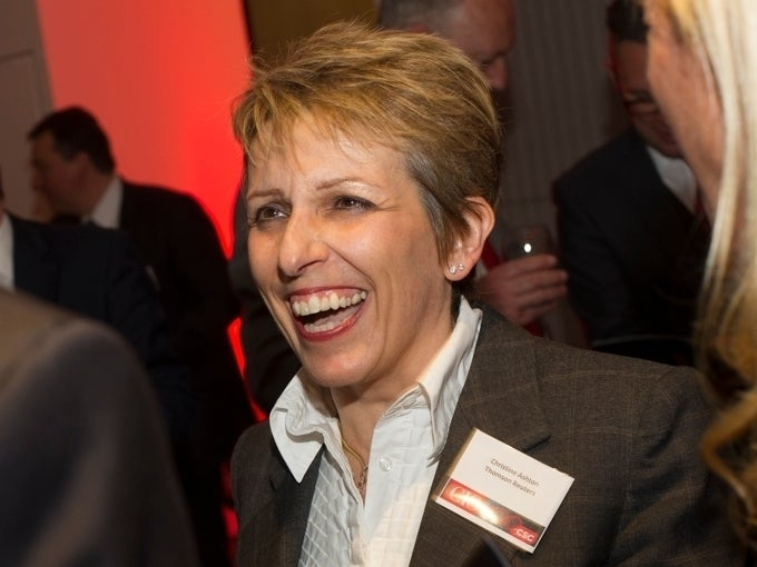 Former Thomson Reuters SVP Technology Christine Ashton