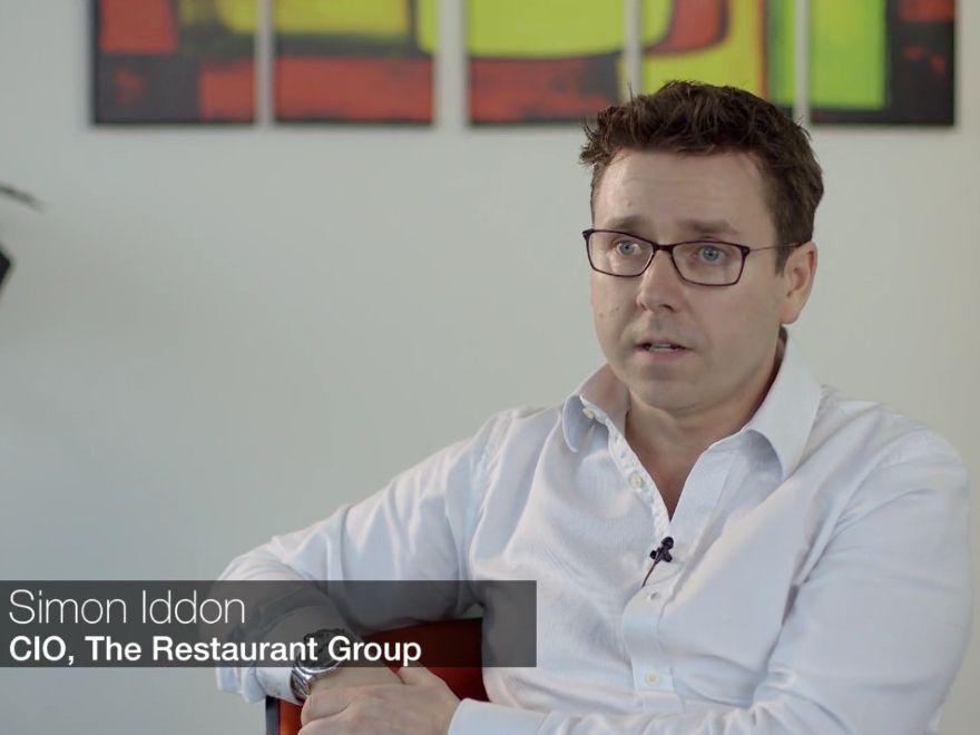 The Restaurant Group CIO Simon Iddon
