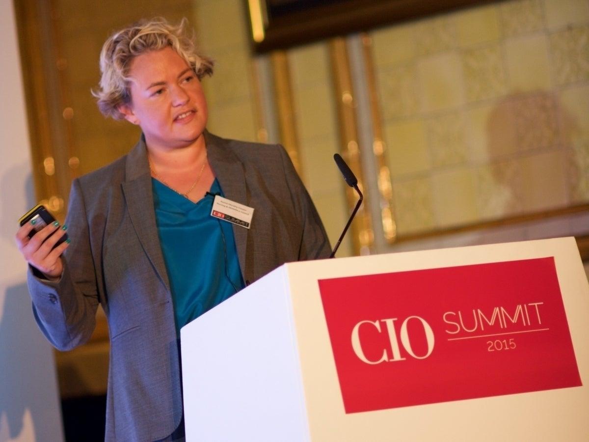 Former Digital Delivery Director at NHS Digital Rachel Murphy