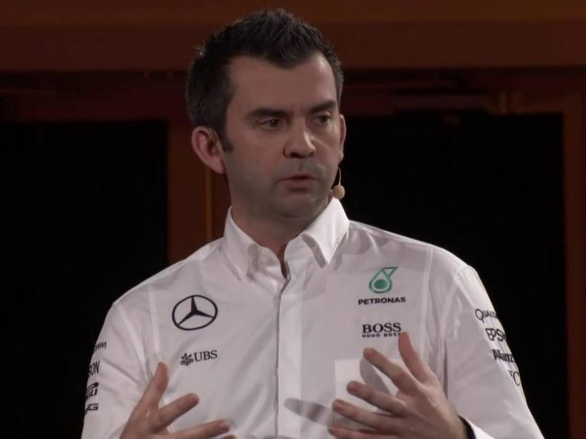 Matt Harris, Head of IT at Mercedes-AMG Petronas Motorsport