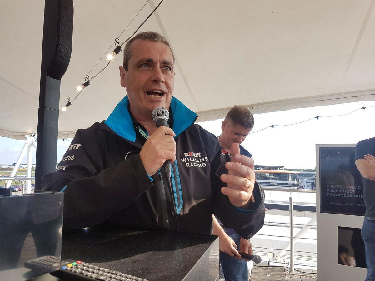 Williams F1 CIO Graeme Hackland