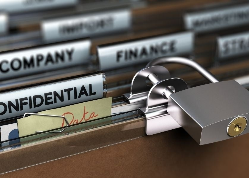 Protect files from unauthorised access