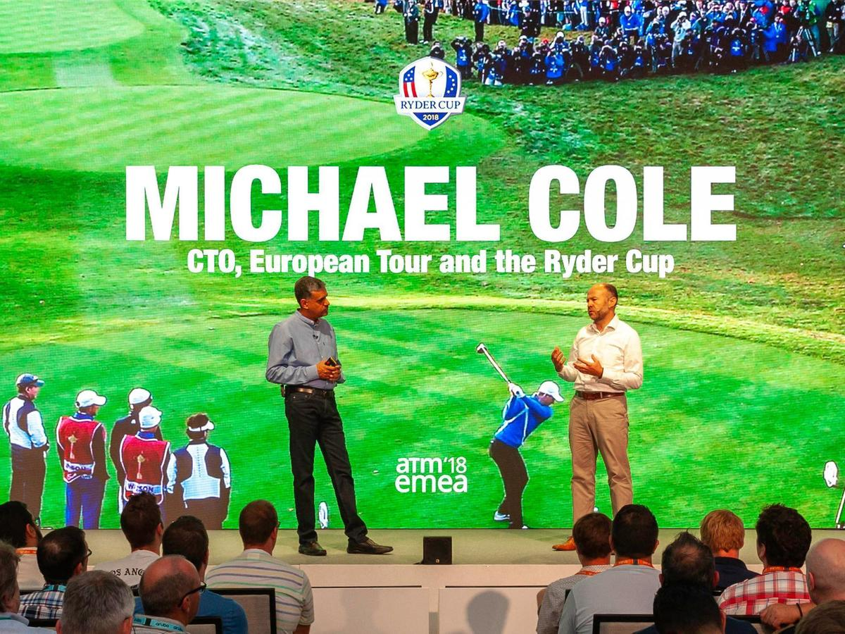 Ryder Cup CTO Michael Cole