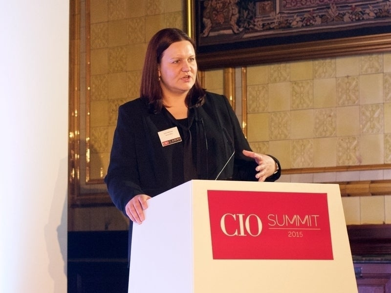 NHS Digital CEO Sarah Wilkinson