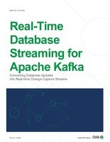 Whitepaper: Real-Time Database Streaming for Kafka