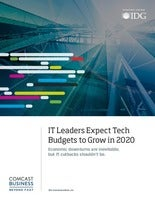 IT Leaders Expect Tech Budgets to Grow in 2020