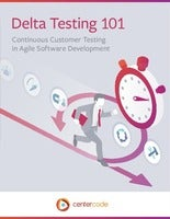 Moving from Beta to Delta Testing