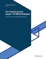 The Total Economic Impact™ of GitHub Enterprise