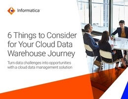 6 Ways to Deliver Business Value from your Cloud Data Warehouse