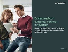 Driving Radical Customer Service Innovation. Move beyond operational demands to deliver proactive strategies that drive business growth