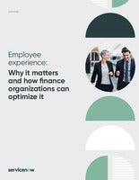 Employee experience: why it matters and how finance organizations can optimize it