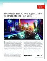 Businesses Seek to Take Supply Chain Integration to the Next Level