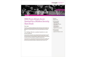 NBA team makes seamless transition to modern cloud security