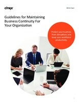 Guidelines for maintaining Business Continuity for Your Organization