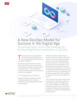 A New DevOps Model for Success in the Digital Age