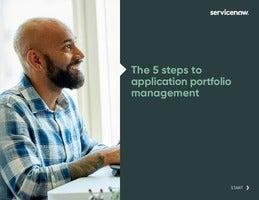 The 5 Steps to Application Portfolio Management
