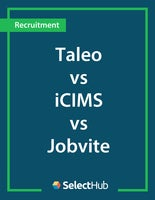 Taleo vs. iCIMS vs. Jobvite Recruiting―Expert Evaluations, Pricing & Recommendations