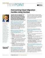 Overcoming Cloud Migration Hurdles Using DevOps