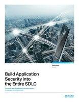 Build Application Security into the Entire SDLC
