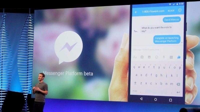 Facebook\'s \'Bots for Messenger\'