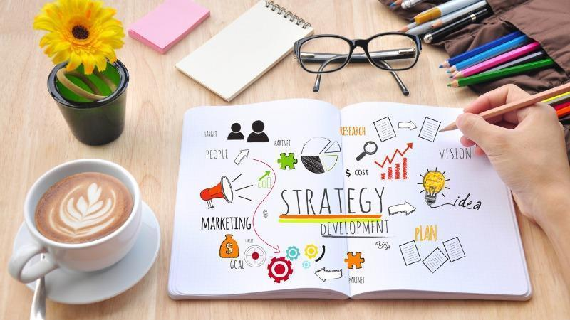 Include a marketing and sales strategy