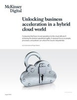Unlocking Business Acceleration in a Hybrid Cloud World