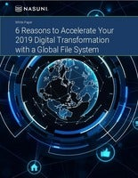 Accelerating digital transformation with a global file system