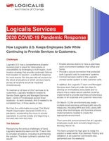 Logicalis Services 2020 COVID 19 Pandemic Response