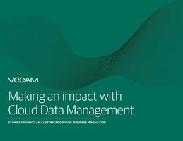 Veeam: Making an Impact With Cloud Data Management