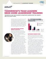 Tomorrow's Team Leaders Need More Leadership Training